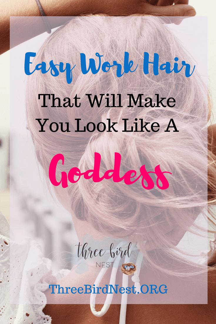 Easy Quick Work Hair, Three Bird Nest .ORG