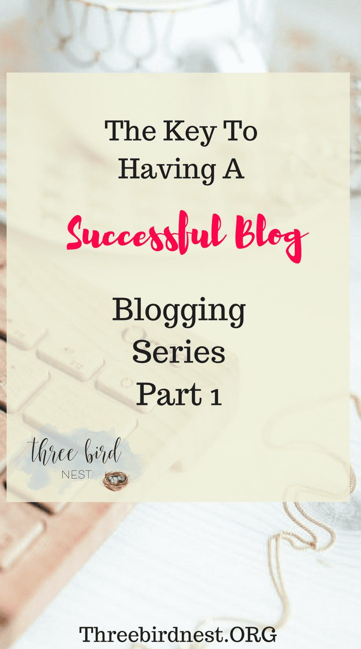 Successful Blogging Series Part 1