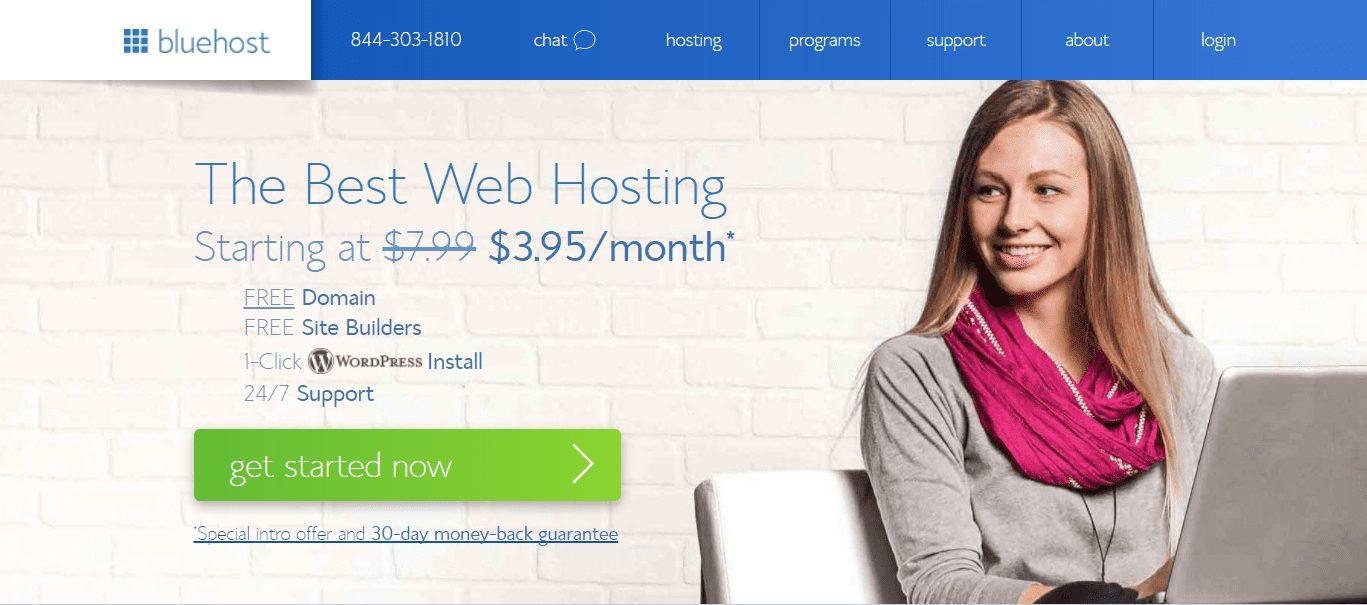 Blue Host Blog Set up Tutorial