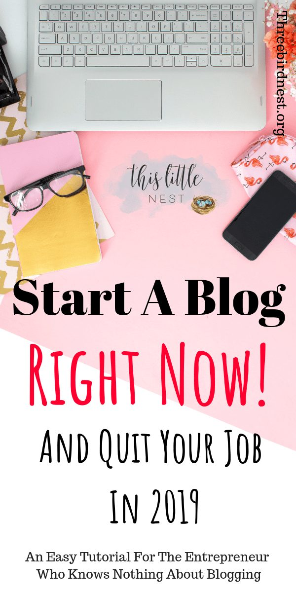 Start a Blog Now Tutorial