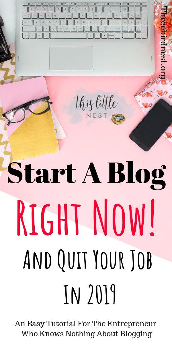 Start a Blog Now Tutorial