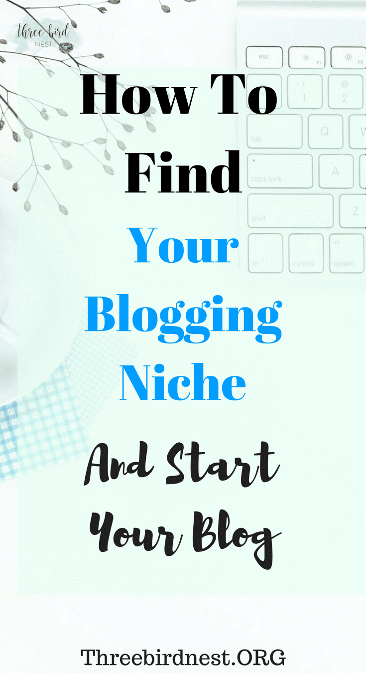 Finding your blogging niche