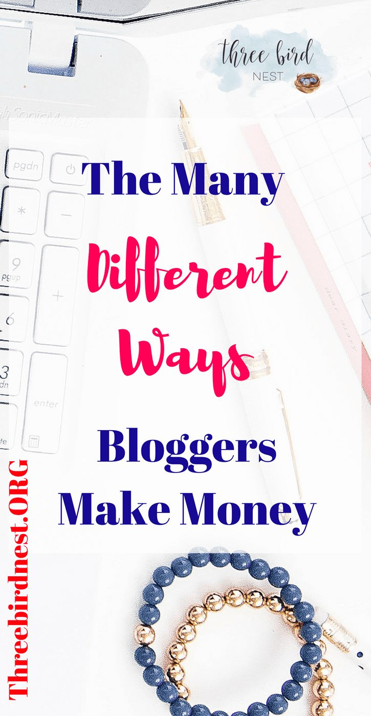 Different ways bloggers make money