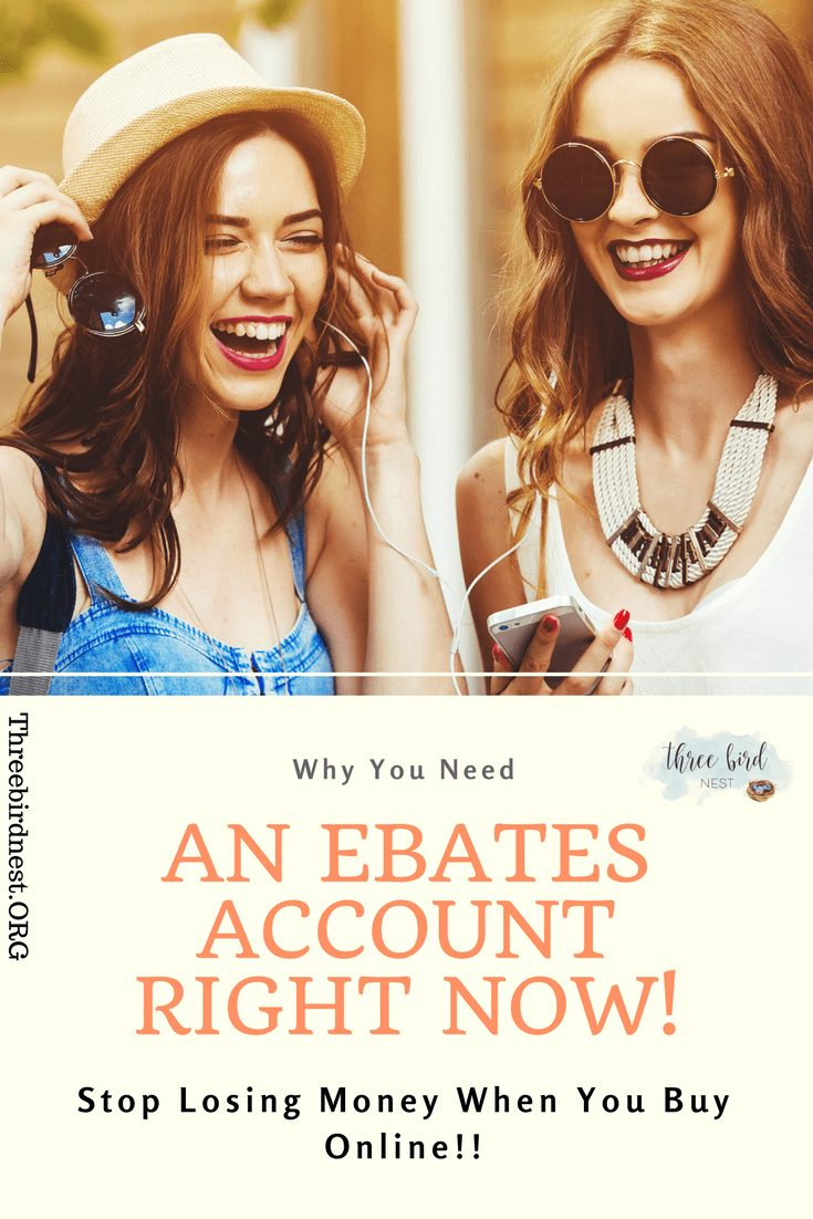 Why you need an ebates account right now