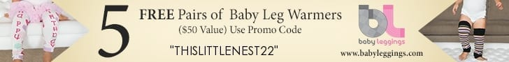 Free baby stuff Coupon code thislittlenest22
