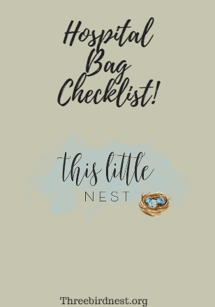 Hospital Bag Checklist, Free Download