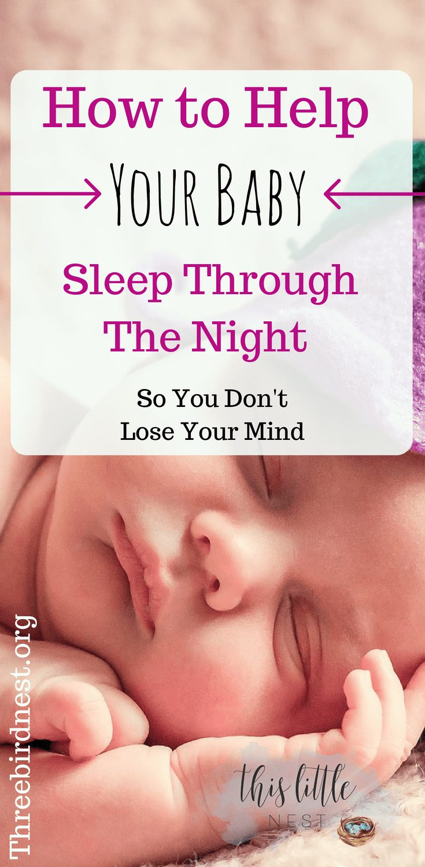 Help your baby sleep through the night