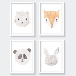 baby nursery art printables