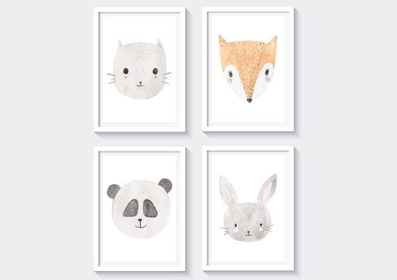 baby nursery art printables