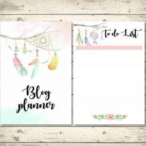 Bohemian Blog Planner From This Little Nest