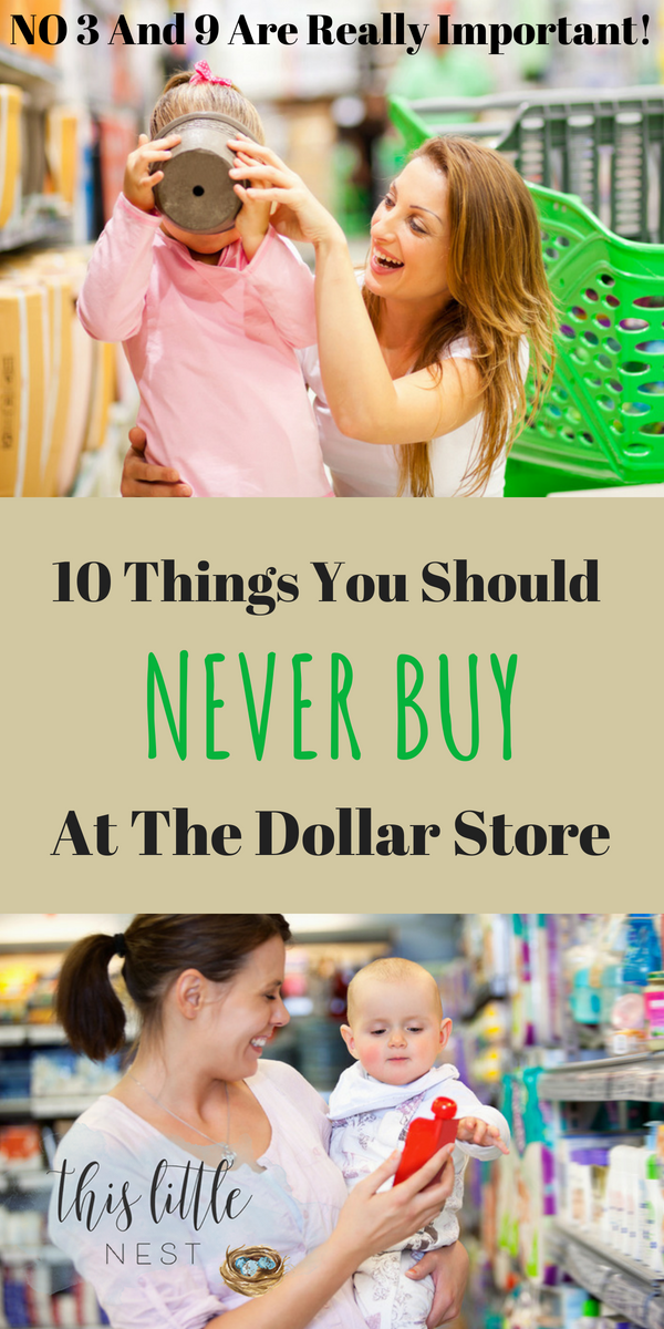 10 dollar store items to never buy