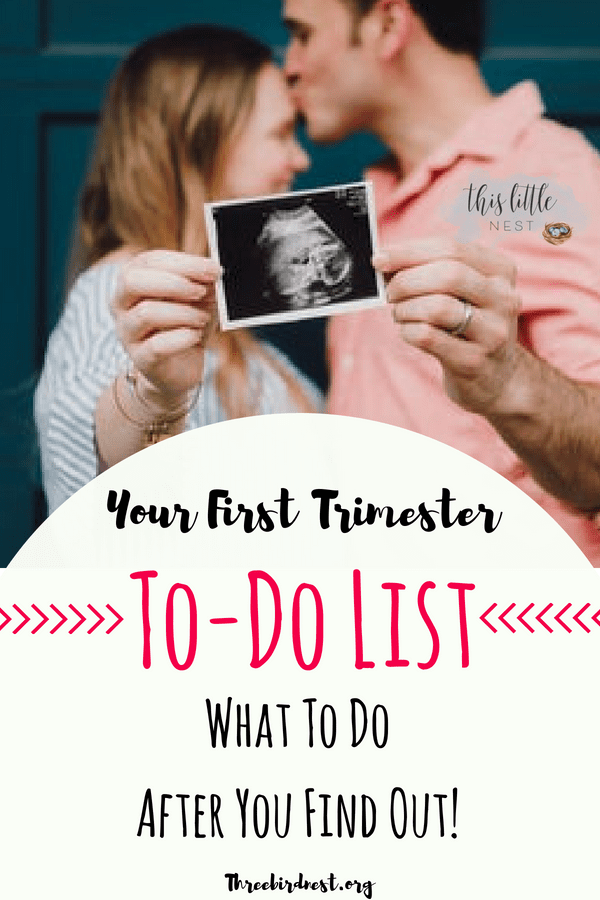 first trimester to do list #pregnancy #firsttrimester #pregnancytodolist