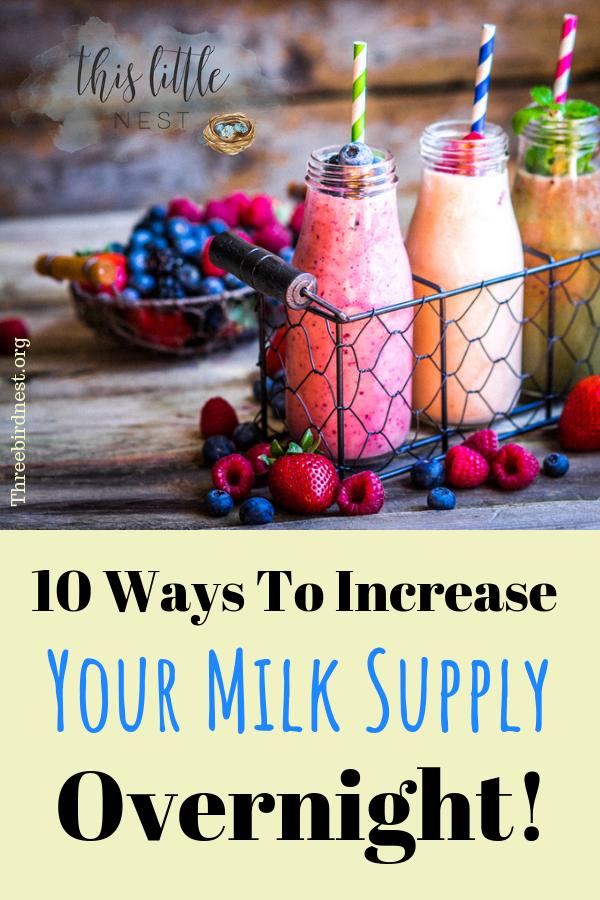 How to boost your milk supply overnight #milksupply #lowmilksupply #breastfeedingtips
