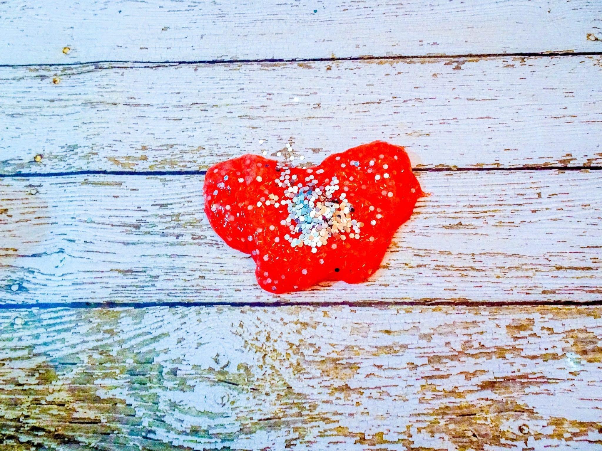 cherry sparkle Valentine's day Slime, Valentine's Day Crafts