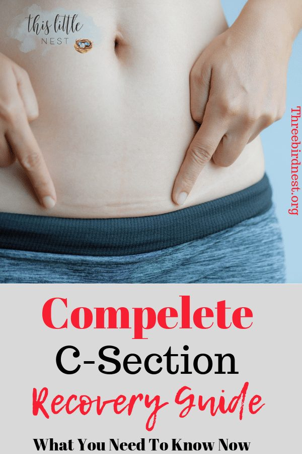 how to get rid of c section belly pooch