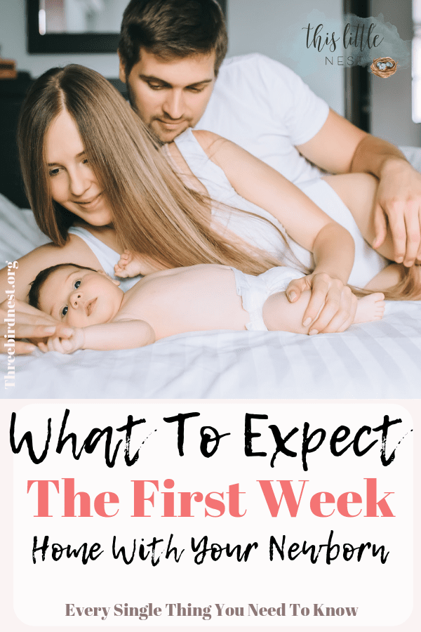 What to expect the first week with your newborn #firstweekwithnewborn #firstweekwithbaby #newbaby #pregnancy #childbirth #newbaby