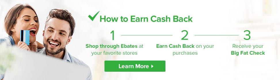 Join Ebates to save big!