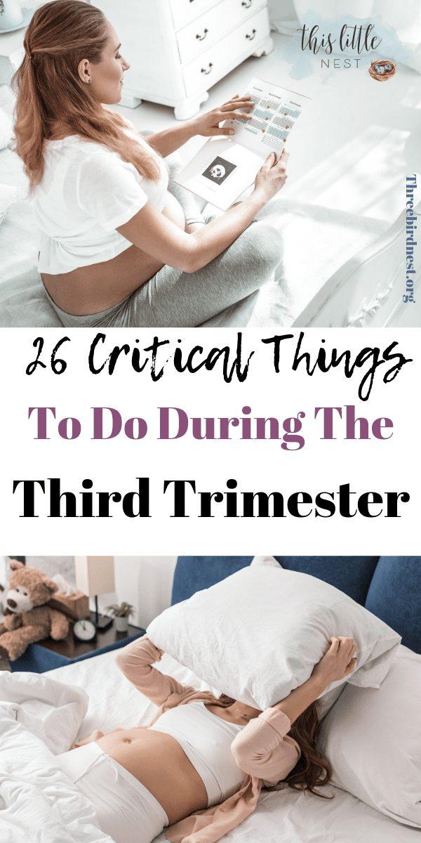 third trimester to do list #thirdtrimester #thirdtrimestertodolist #childbirth # childbirthlist #pregnancy
