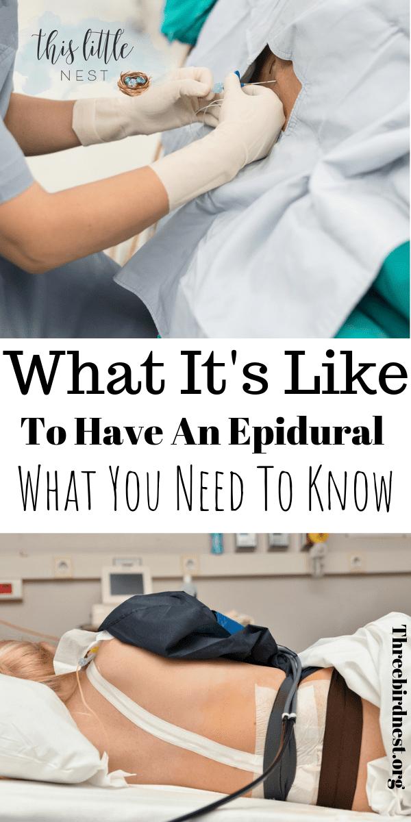 What it's like to Get An Epidural #Epidural #laborpainrelief #Epiduralsideeffects #childbirth #thirdtrimester