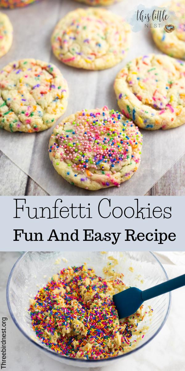Funfetti cookies recipe #sprinkleccookiesrecipe #confetticookiesrecipe #funfetticookiesrecipe