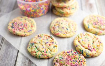 Funfetti Cookies For Birthdays Or Any time