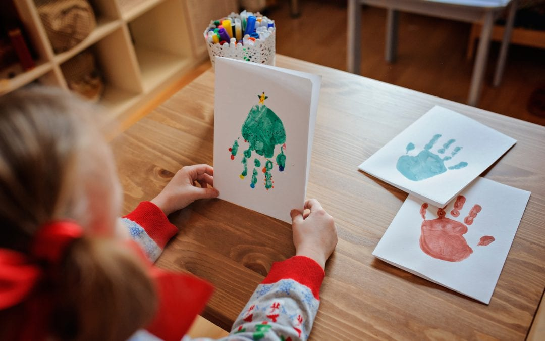 6 Hand Print Christmas Crafts For Kids To Make