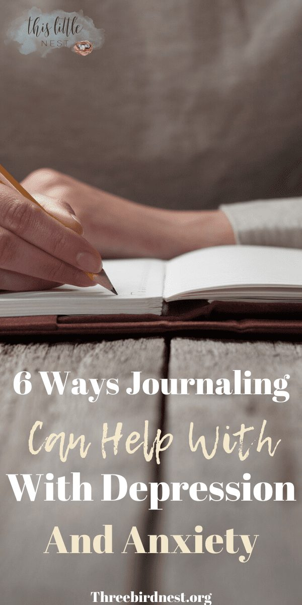 How Journaling can help with depression and anxiety #journaling #bulletjournal #anxiety #depression