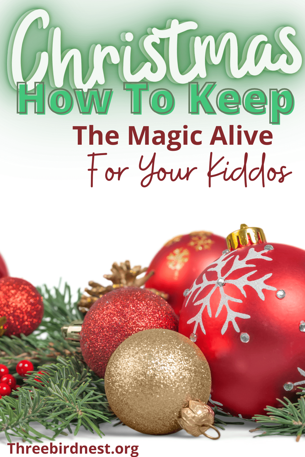 keep the magic in christmas