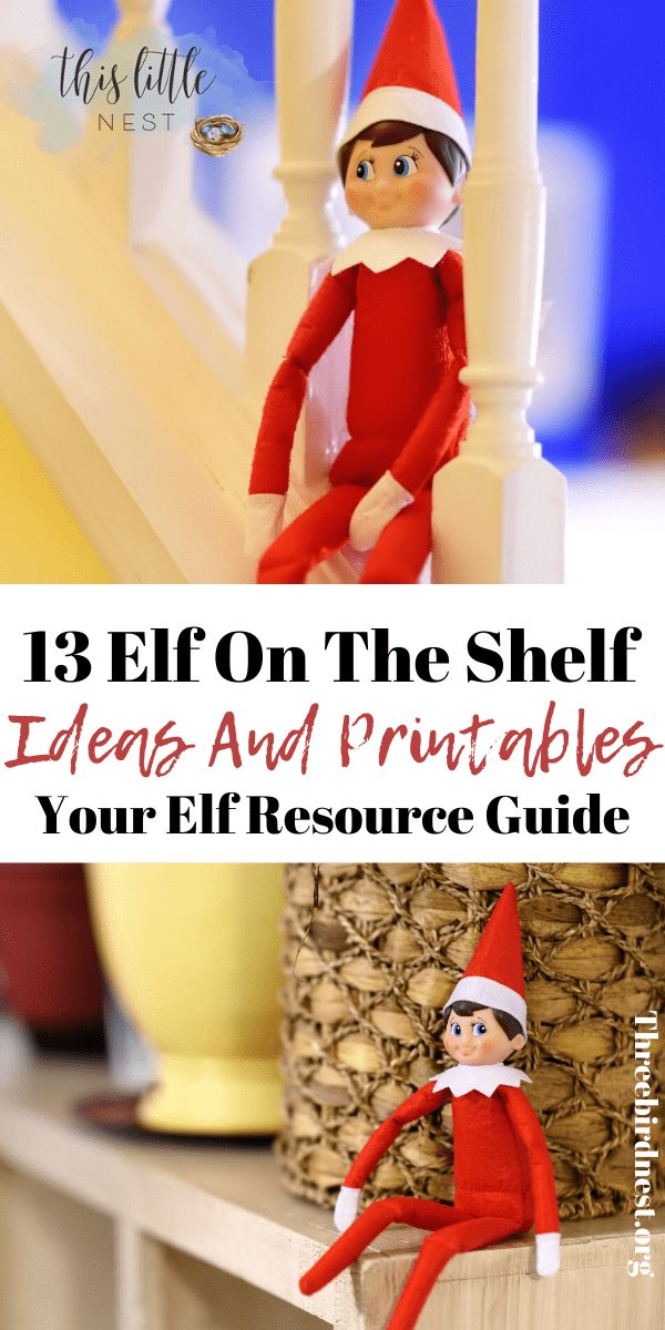 elf on the shelf resource guide