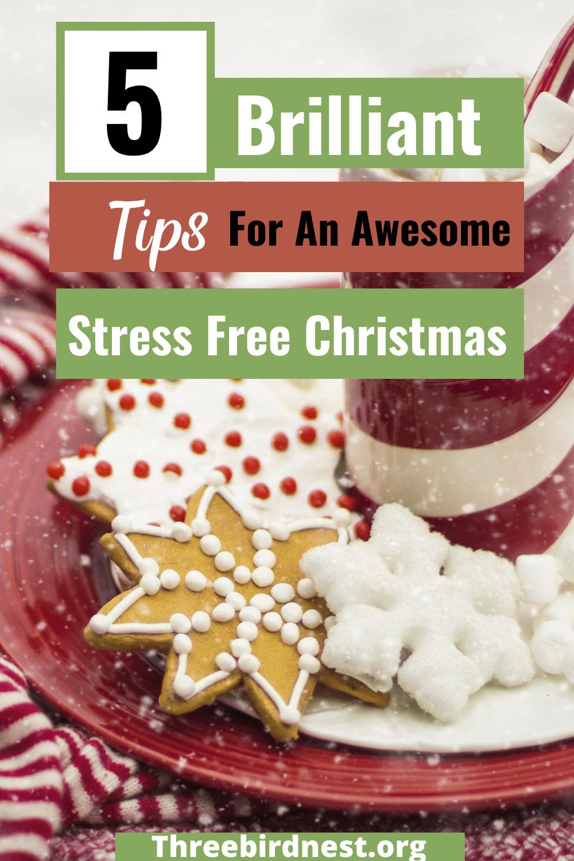 stress free Christmas tips