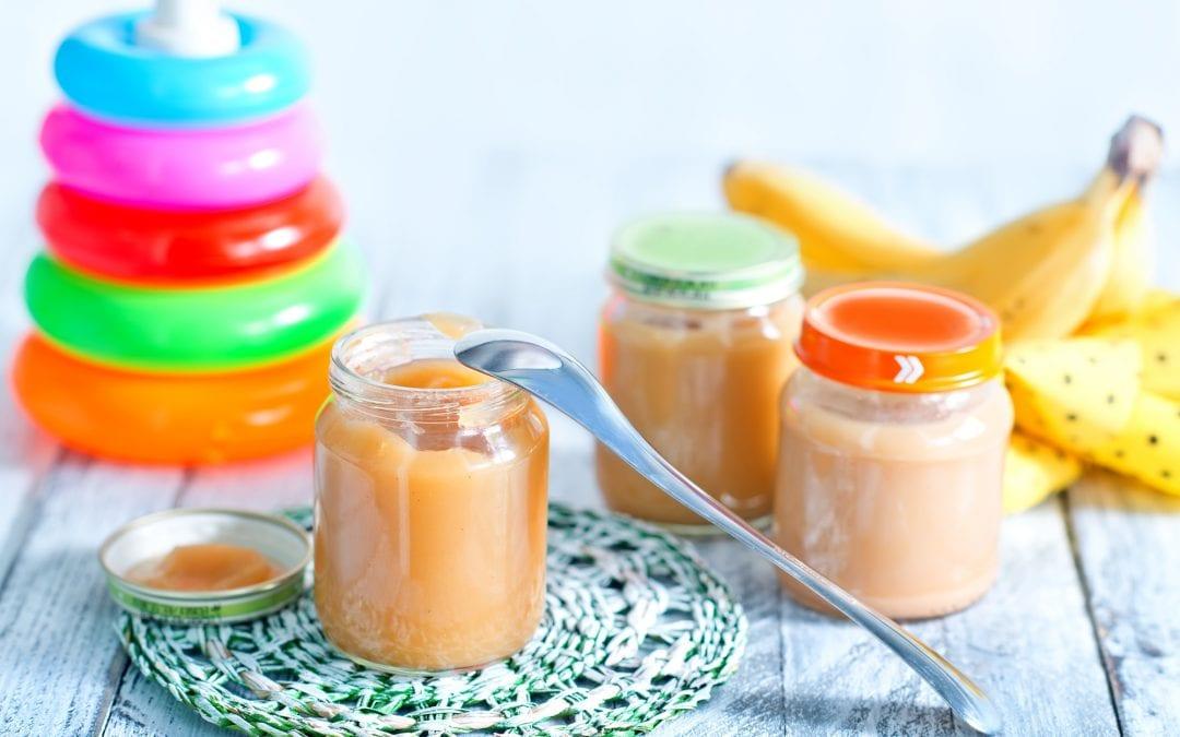 Peach baby puree recipe