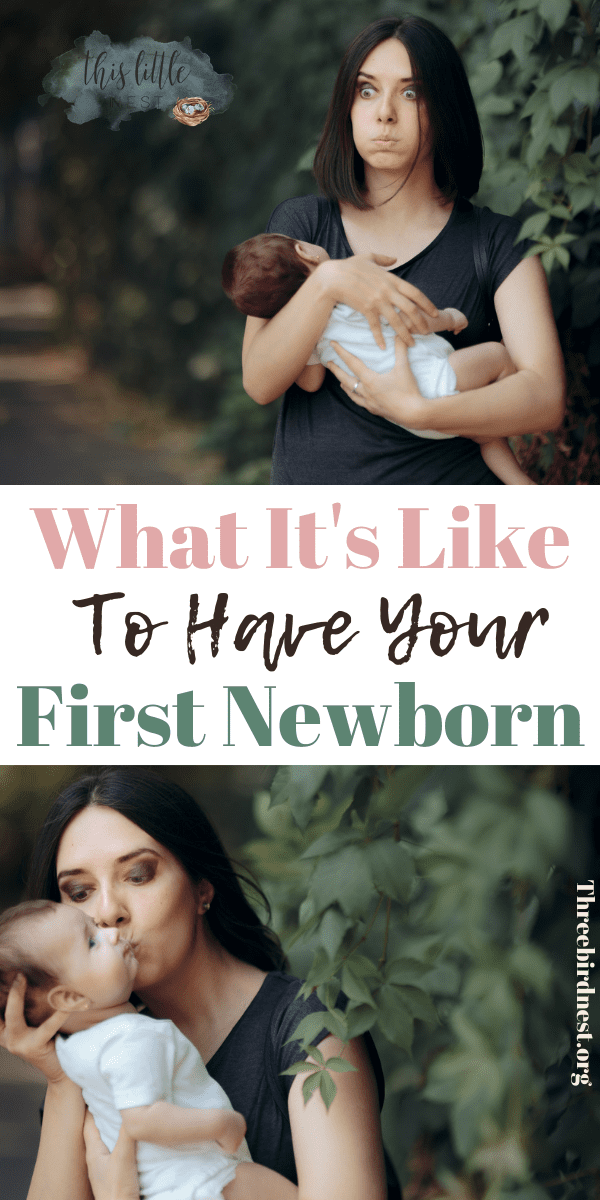 what it's like to be a new mom