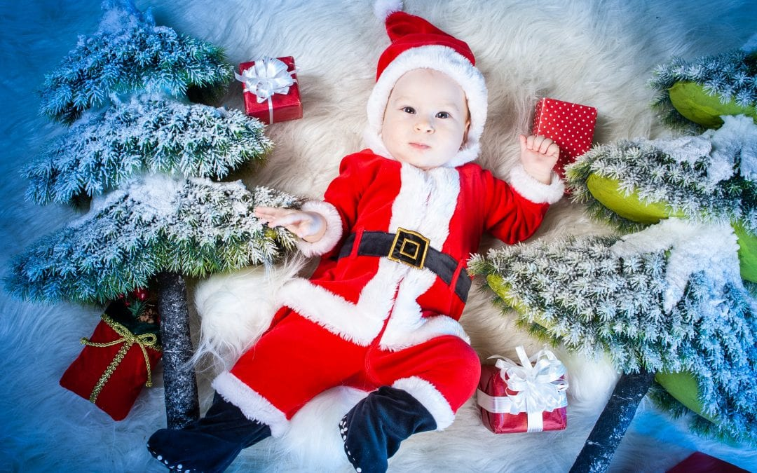 Baby's First Christmas Ideas | Christmas Baby Activities