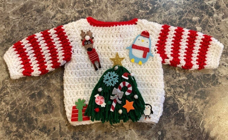 ugly Christmas sweater for family