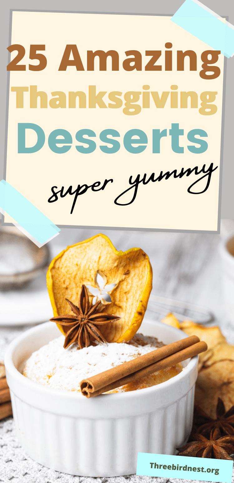 25 thanksgiving dessert recipes