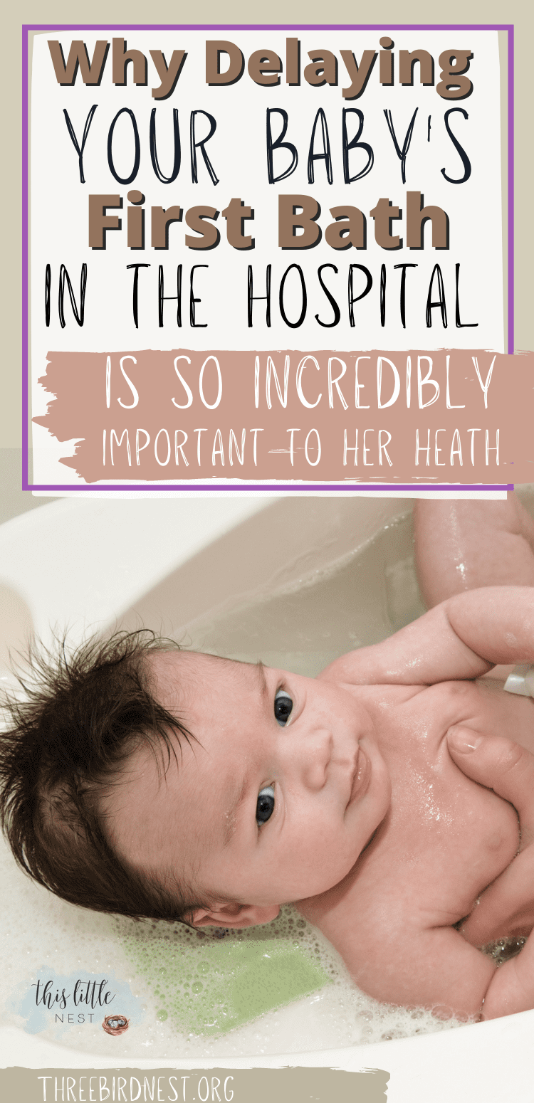 Amazing Benefits of Delaying Baths for Newborns