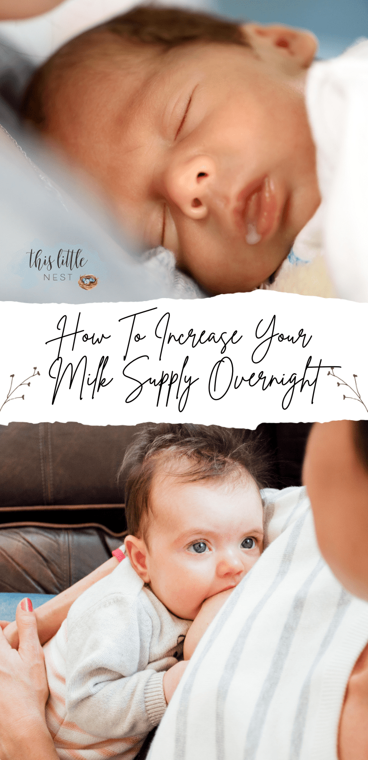 increase your milk supply overnight