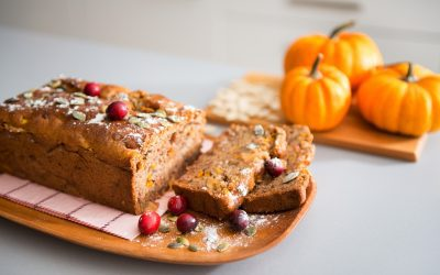 Pumpkin Cranberry Loaf For Fall And Halloween